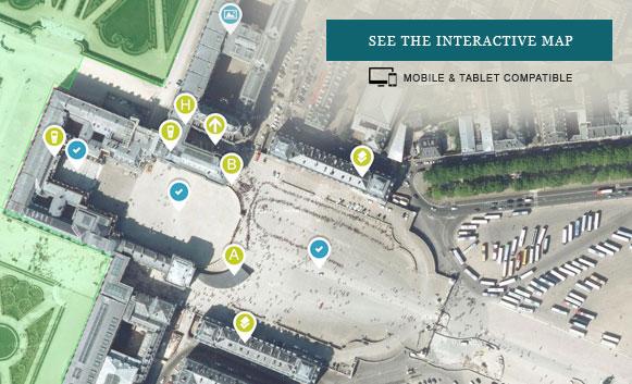 Interactive map of Versailles