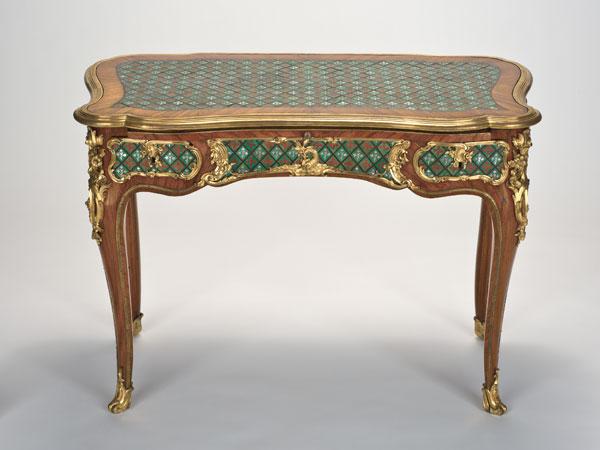 Table à écrire, vers 1745-1749