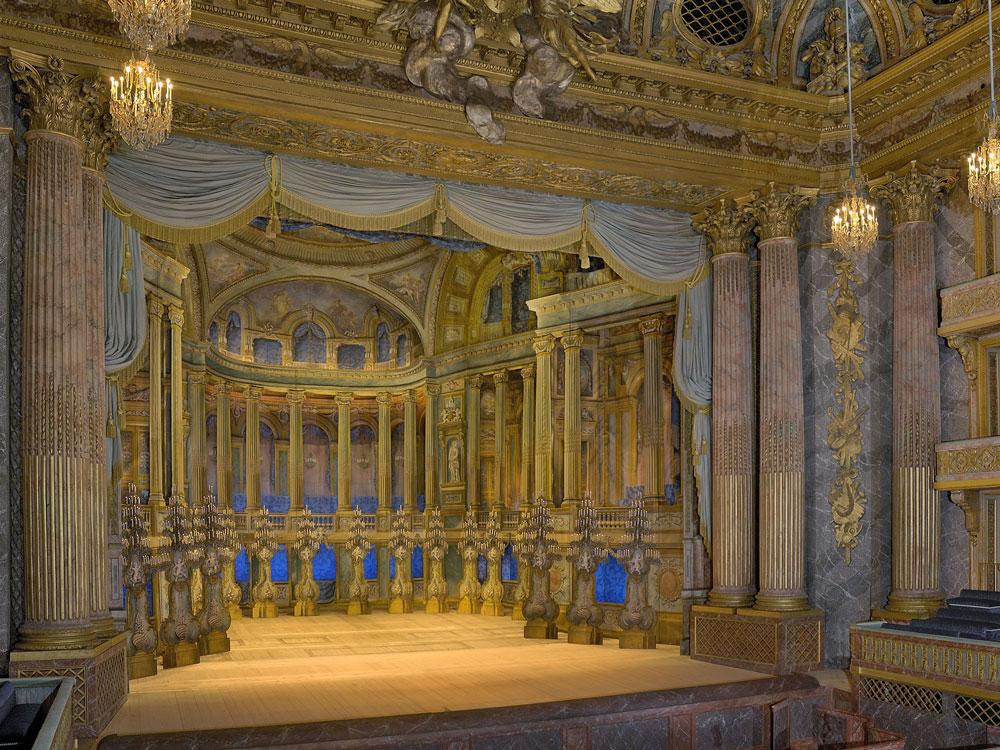 L'Opéra royal  Château de Versailles