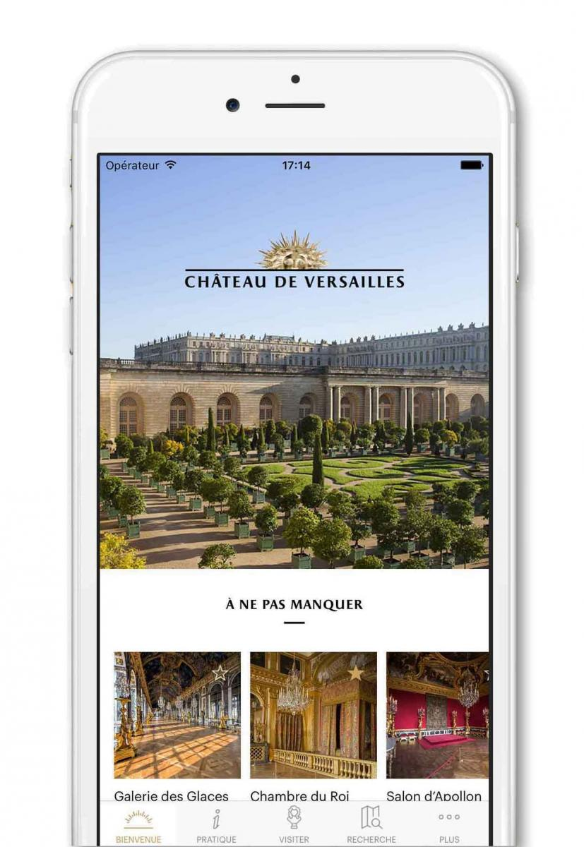 Cette Application Pour Smartphones Et Tablettes Vous Propose Laudioguide De Visite Du Chateau Domaine Trianon Ainsi Que La Carte Interactive