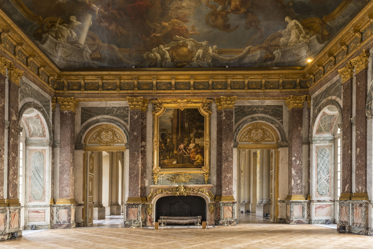 Le grand appartement du roi ch teau de versailles for Salon de versailles