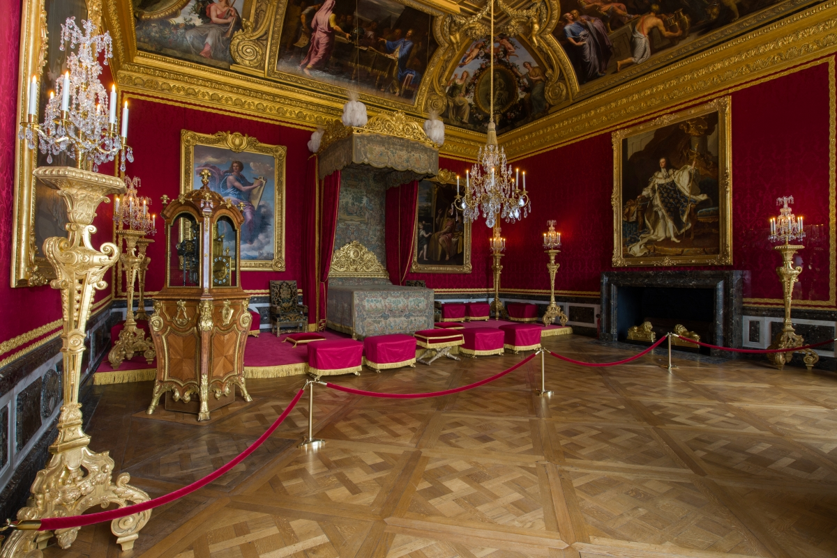 Le grand appartement du roi ch teau de versailles for Salon de versailles