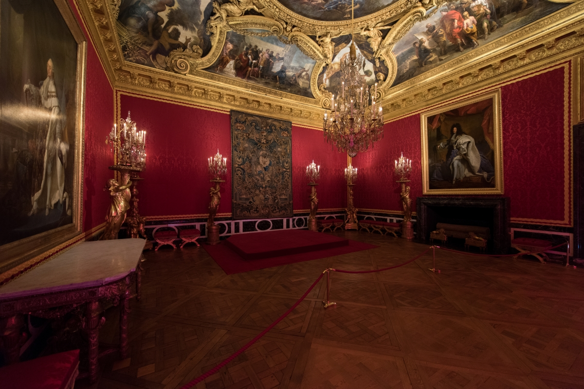 Le grand appartement du roi ch teau de versailles for Salon d apollon