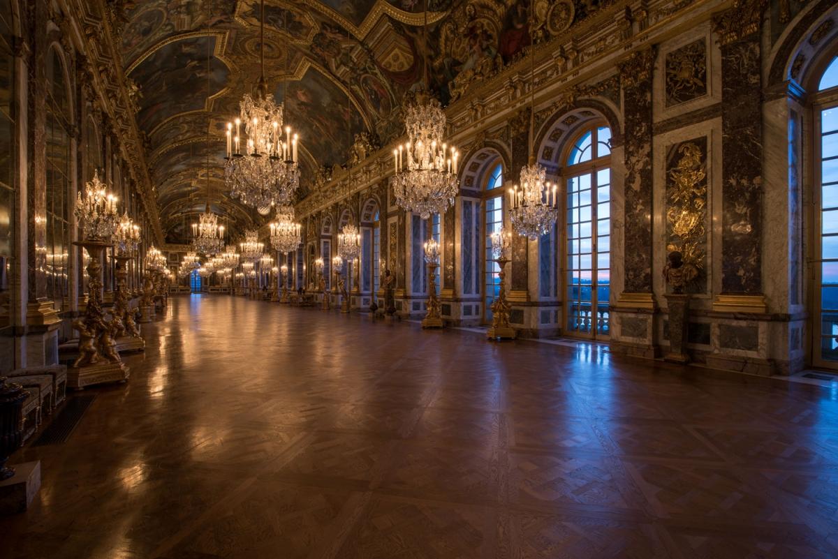 La Galerie Des Glaces Ch 226 Teau De Versailles