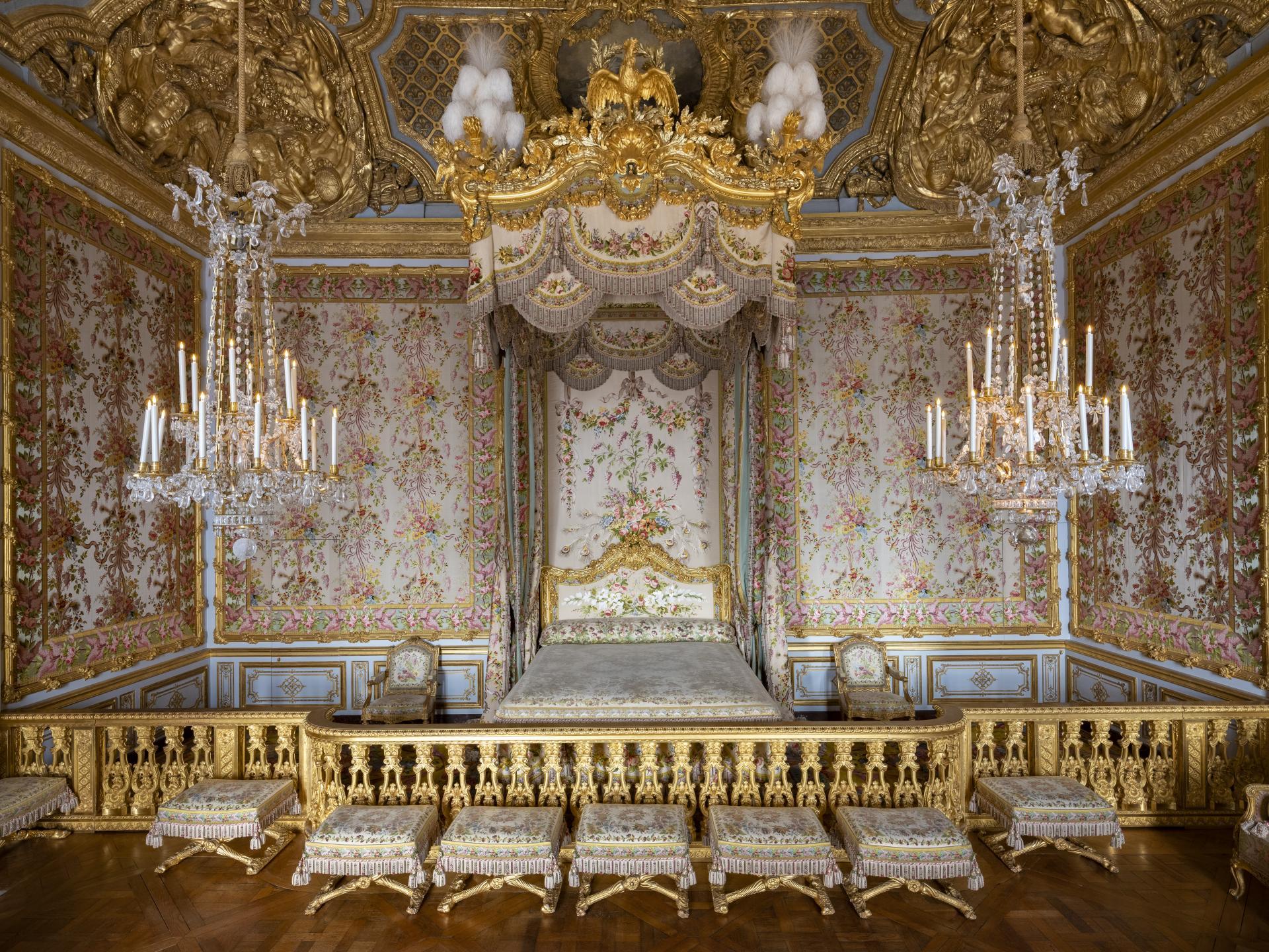 Le Grand Appartement de la Reine   Château de Versailles