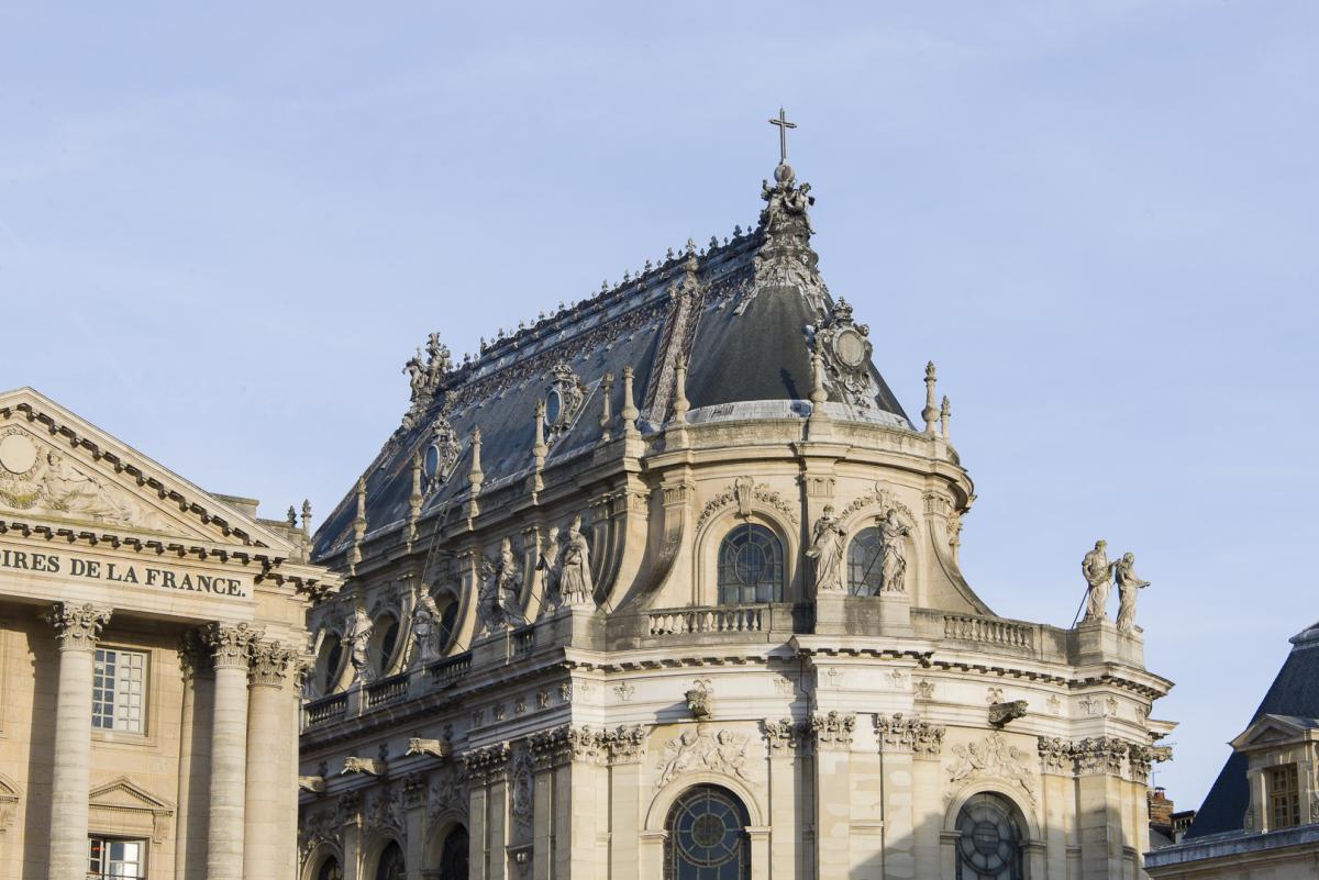 Château de Versailles - La restauration de la façade du Château Chapelle_cthomas_garnier