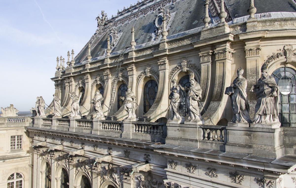 Château de Versailles - La restauration de la façade du Château Chapelle_cthomas_garnier_3