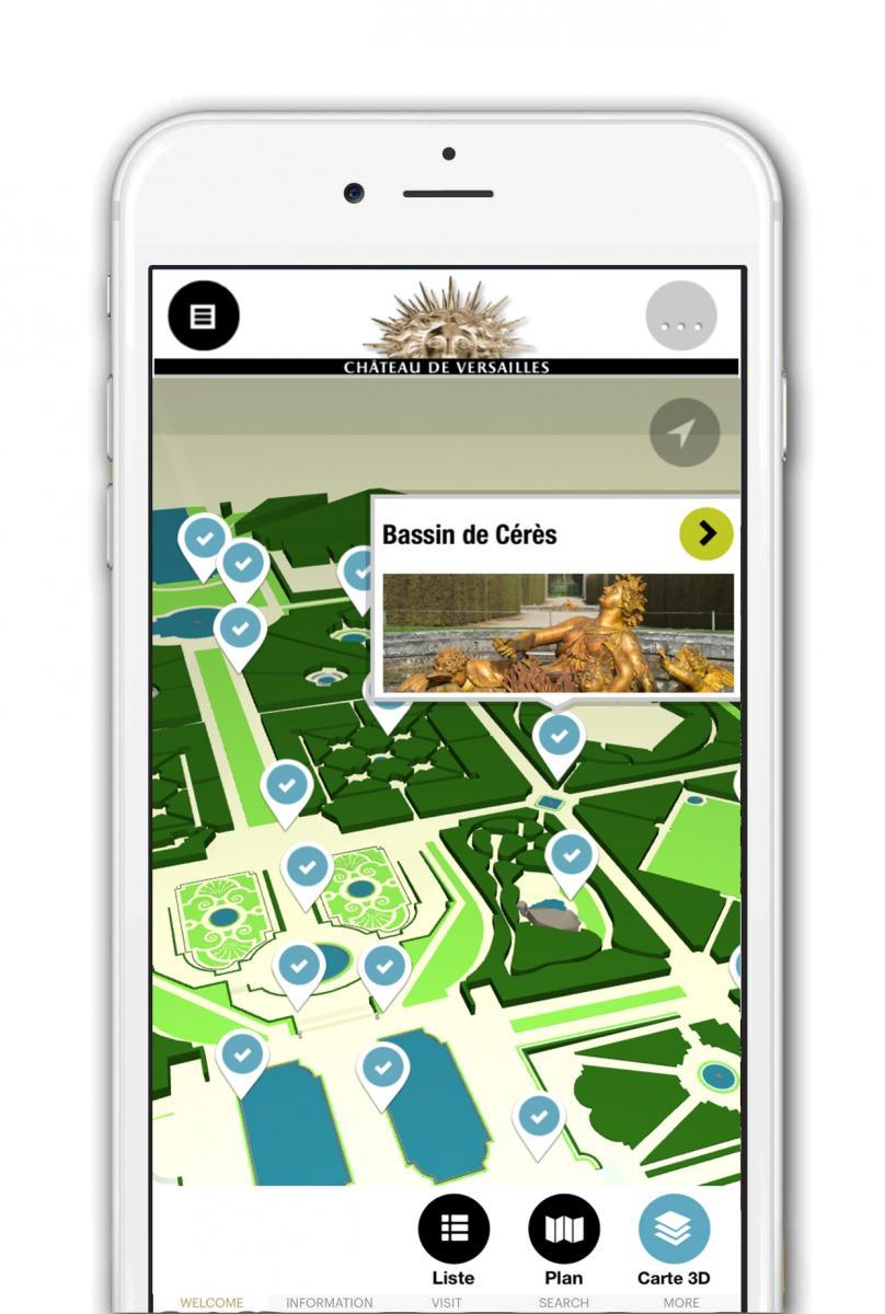 Une Application Mobile Realisee En Partenariat Avec Orange Dediee A La Visite Des Jardins Est Egalement Disponible Telechargement Gratuit