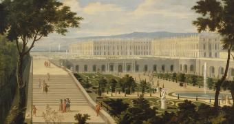 Les visiteurs de Versailles. 1682-1789