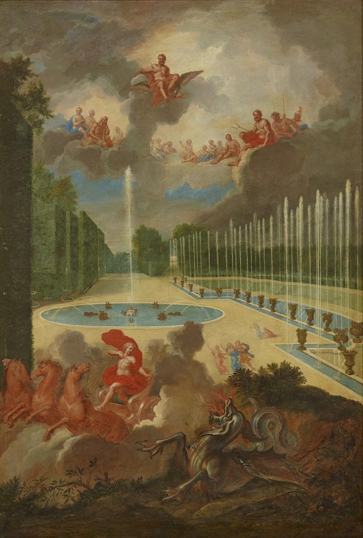 Versailles des jardins et des dieux - Exposition Jean Cotelle 3