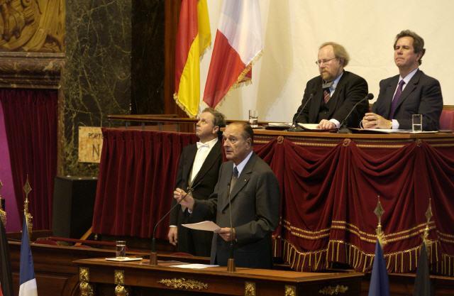 Discours de Jacques Chirac