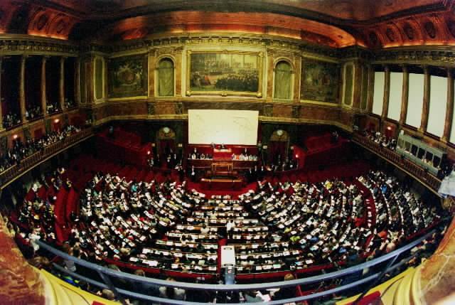 la salle du congrès.