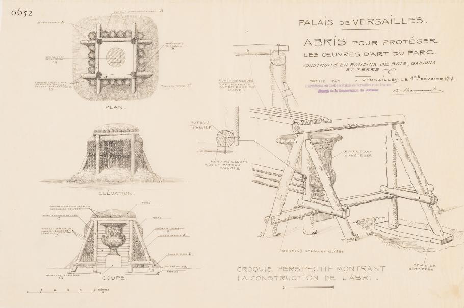 Croquis de l'architecte Benjamin Chaussemiche
