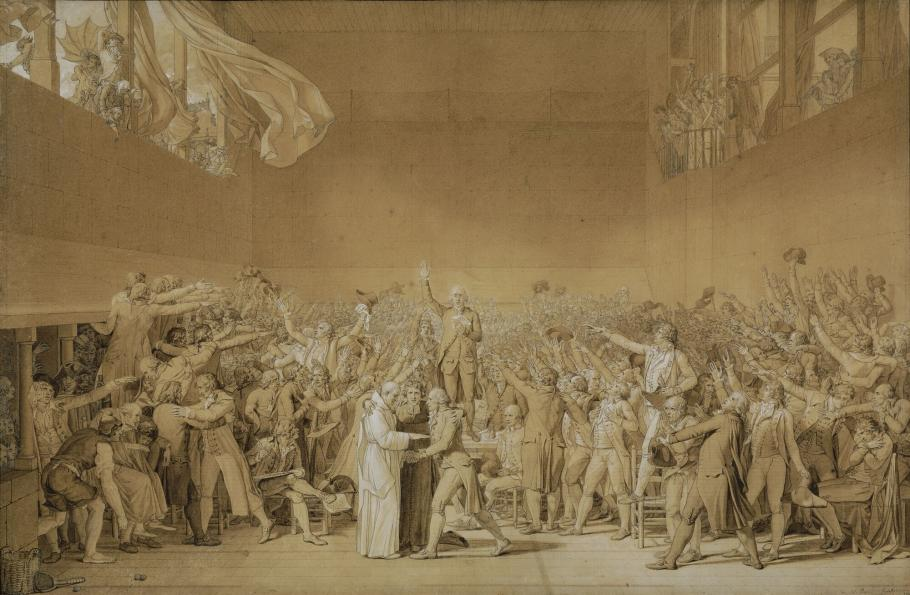 Le serment du Jeu de Paume, 20 juin 1789