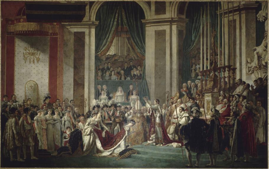 Sacre de Napoléon et couronnement de Joséphine à Notre-Dame de Paris, 2 décembre 1804