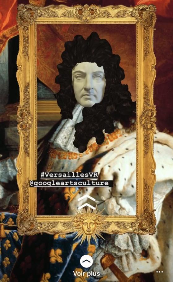 Filtre Louis XIV #VersaillesVR