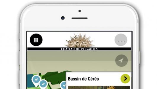 Application jardins de Versailles