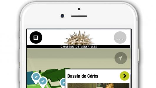 Application jardins de Versailles