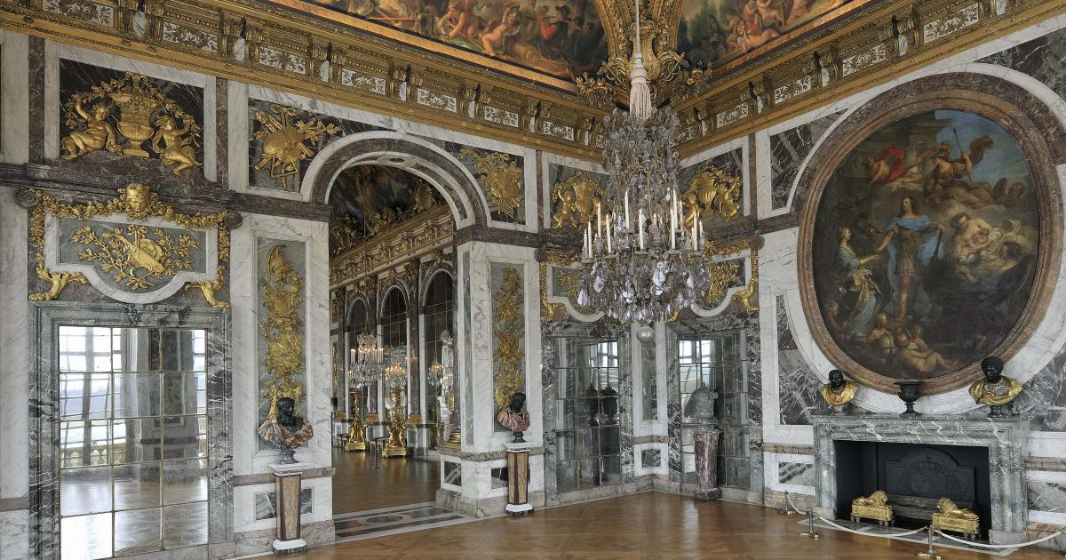 restauration du salon de la paix ch teau de versailles. Black Bedroom Furniture Sets. Home Design Ideas