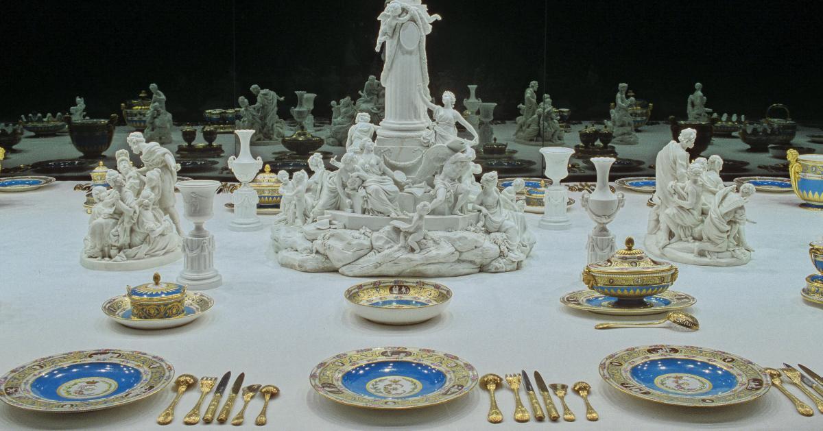 Les Tables Royales Ch 226 Teau De Versailles