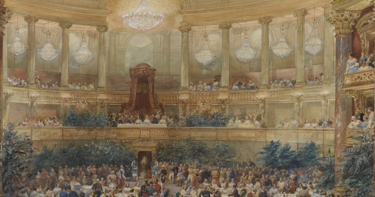 Visite De La Reine Victoria Ch 226 Teau De Versailles