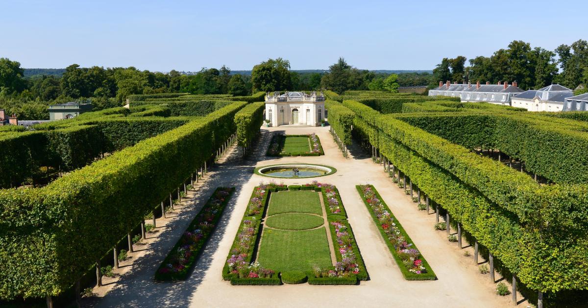 Jardin fran ais du petit trianon ch teau de versailles - Jardin du chateau de versailles gratuit ...