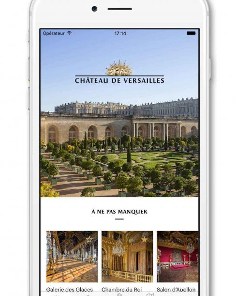 Application Château de Versailles