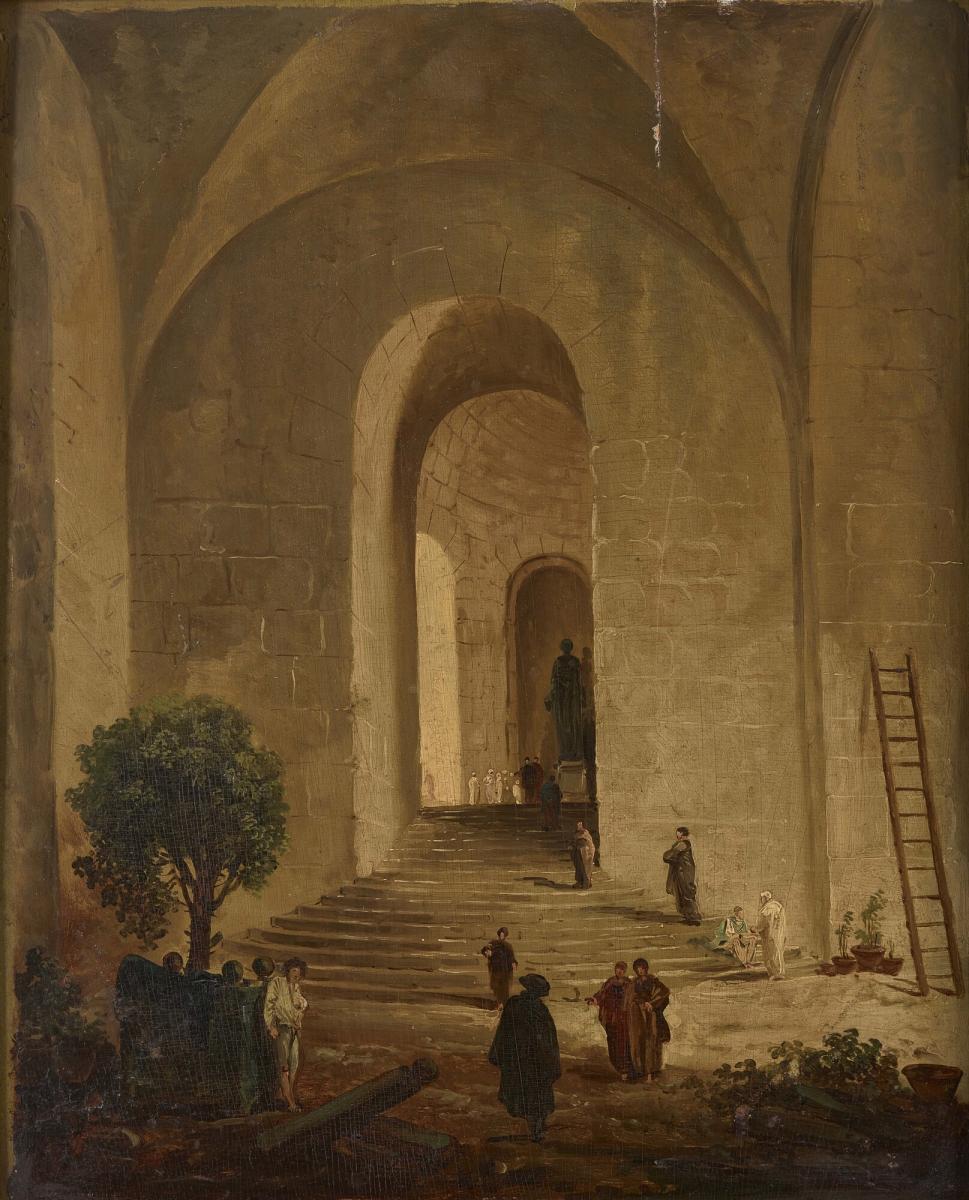 eab32f17b19d70 Hubert Robert, L Orangerie du château de Versailles (link is external)
